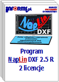 Program NapLin DXF 2.5 R 2 licencje