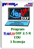 Program NapLin DXF 2.5 R EDU 1 licencja