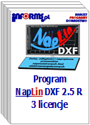Program NapLin DXF 2.5 R 3 licencje